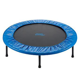 Upper Bounce - 36 Inch 91cm Mini Fitness Exercise Trampoline Rebounder Trampette for Gym, Indoor Workout, Cardio, Weight Loss - Two-Way Foldable with Carry-on Bag