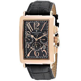 Christian Van Sant Men's Prodigy Black Dial Uhr - CV9141