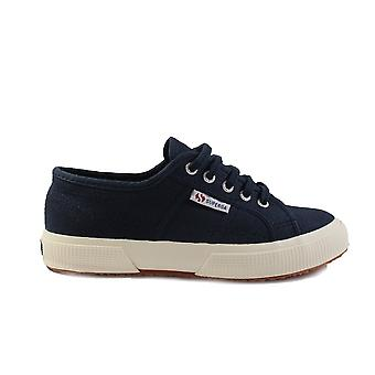 Superga JCOT Classic Canvas Navy Unisex Lace Up Shoes
