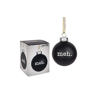Ornament - Archie McPhee - Meh Black 2