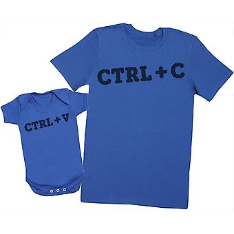 CTRL C and CTRL V - Mens T Shirt & Baby Bodysuit