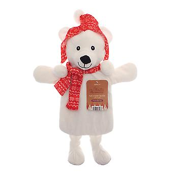 Country Club Winter Warmer Hot Water Bottle, Polar Bear