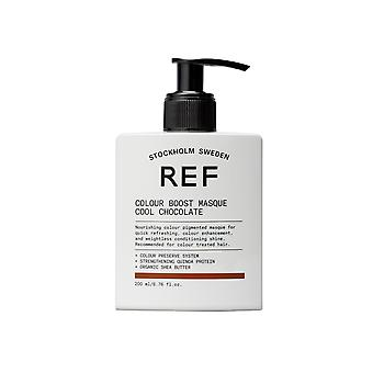 REF Colour Boost Masque cool chocolade 200ml