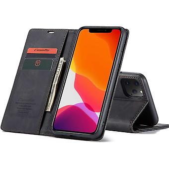 Retro Wallet Slim Cover for iPhone 11 Pro Black
