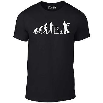 Homens ' s Zombie Evolution t-shirt
