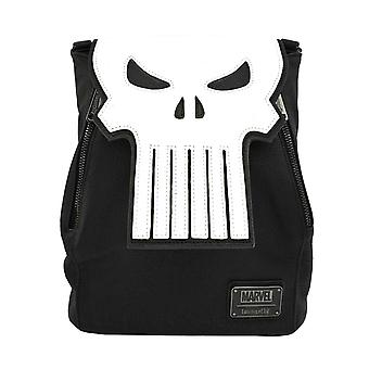 Punisher mochila Skull Logo Mini nuevo Loungefly Oficial Marvel Negro