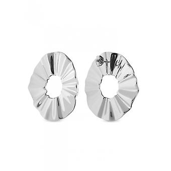 Rosefield BLWES-J212 Earrings - The LOIS Steel Wave Collection