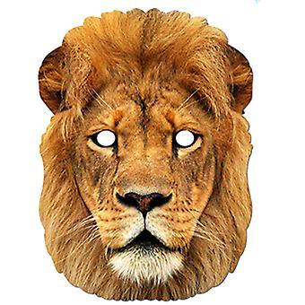 Masque de robe de fantaisie de carte d'animal de lion