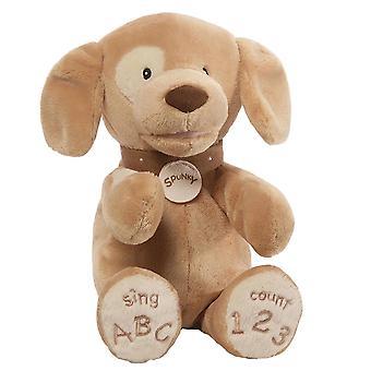 Gund Spunky The Singing Tan Dog Abc 123