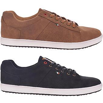 Duke D555 mens Carson spetsar upp låg upphov casual utbildare sneakers skor