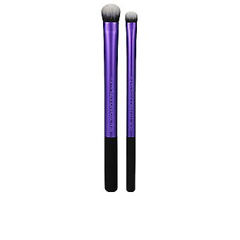 Echte Techniken Instapop Eye Brush Duo für Frauen