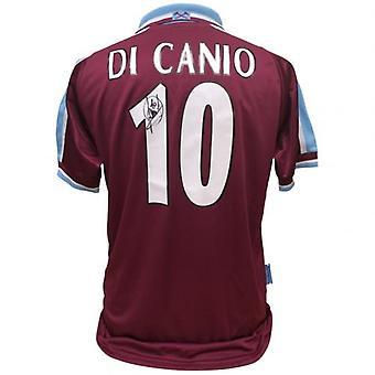 West Ham United Di Canio Signerad tröja