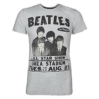 Amplified Beatles Shea Stadium Men's T-Shirt