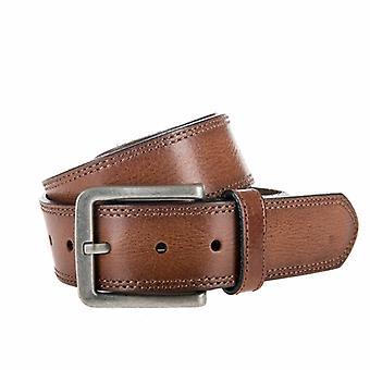Tough Cognac Jeans Belt