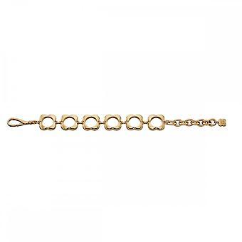 Orla Kiely Gold Plated Open Flower Bracelet B4991