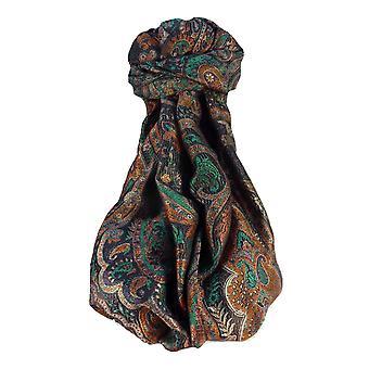 Mens Jamawar Premium Silk Scarf Pattern 0089 by Pashmina & Silk