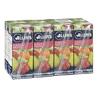 Allens Tetra Fruit Punch-( 200 Ml X 8 Can )