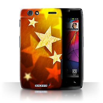 STUFF4 Case/Cover for Motorola RAZR XT910/Stars/Christmas Decorations
