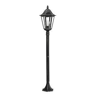 Eglo Navedo - 1 Lampa zewnętrzna Lampa Czarna, Srebrna Patyna IP44 - EG93463