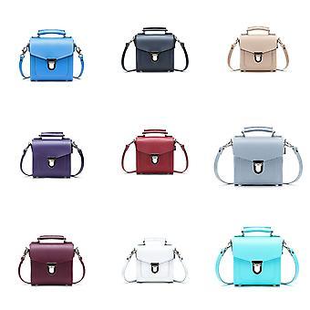 Zatchels Womens/Ladies Handcrafted Leather Sugarcube Bag (British Made)