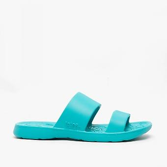 Totes Sol Bounce 0351 Ladies Everywear Slide Sandals Splash Turquoise
