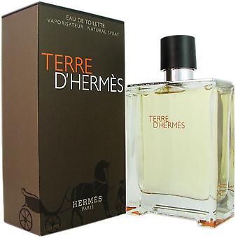 Terre d' Hermes für Männer 3,3 oz 100 ml Eau de Toilette Spray