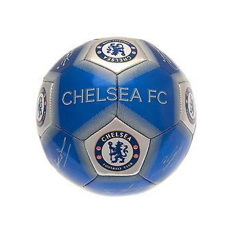 Chelsea FC painettu allekirjoitus taitopallo