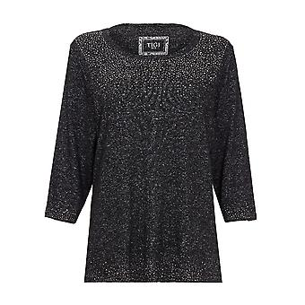 TIGI Nailhead  Black Detail Top