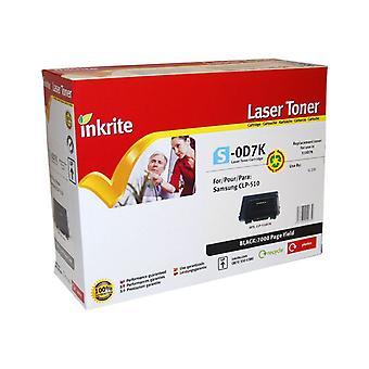 Inkrite Laser Toner Cartridge compatible with Samsung CLP 510 Black