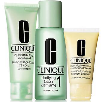 Giftset Clinique 3 vaihe ihon hoito järjestelmä 1