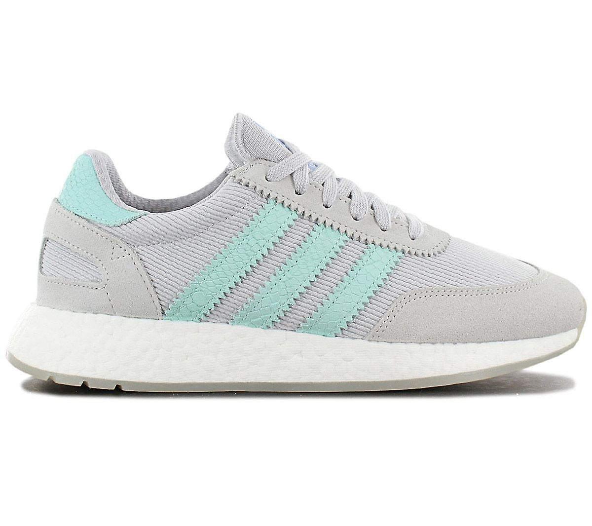 Adidas Originals Iniki I-5923 W Boost - Damen Schuhe Grau-türkis D97349 Sneakers Sportschuhe