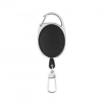 Extendable keychain with yo-yo function and string