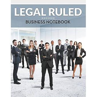 Legal Ruled Business Notebook by Publishing LLC & Speedy