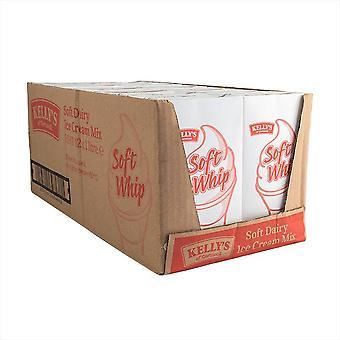 Kellys Soft Ice Cream Mix