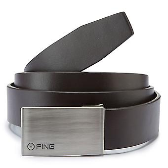 Ping Collection Mens Hughes Leather Golf Belt