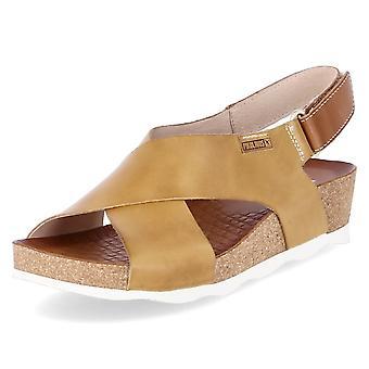 Pikolinos Mahon W9E0912HONEY sapatos femininos universais de verão