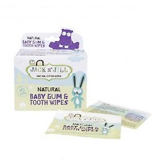 Jack & Jill - Natural Baby Gum & Tooth Wipes 25s