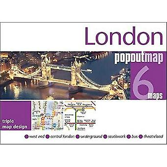 London PopOut Map - 3 PopOut maps in one handy - pocket-size format by