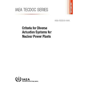 Criteria for Diverse Actuation Systems for Nuclear Power Plants by In