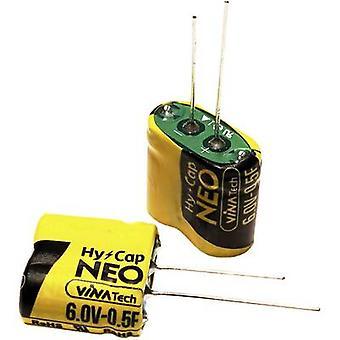 VINATech WEC6R0255QGI Supercapacitor (SC) 2,5 F 6 V (Ø x H) 10,5 mm x 21 mm 1 pc(s)