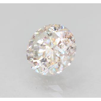 Certified 1.62 Carat E VS2 Round Brilliant Enhanced Natural Diamond 7.32mm 3EX