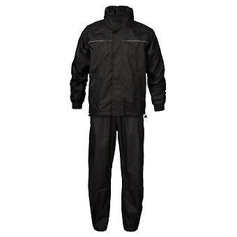 ID ajuste Regular Unisex lluvia chaqueta y pantalón conjunto