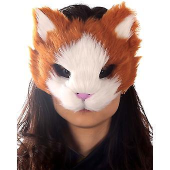 Oranje Kitty masker