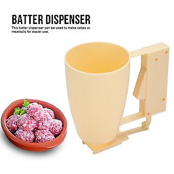Multifunction Handheld Batter Dispenser - Meatball Maker Cake Donut Making Tool Cream Dispenser