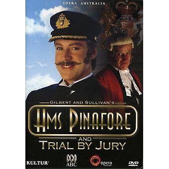 Gilbert & Sullivan - H.M.S. Pinafore/Trial by Jury-Comp Opera [DVD] USA import