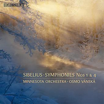 J. Sibelius - Sibelius: Symphonies Nos. 1 & 4 [SACD] USA import
