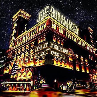 Joe Bonamassa - Live at Carnegie Hall: An Acoustic Evening [CD] USA import