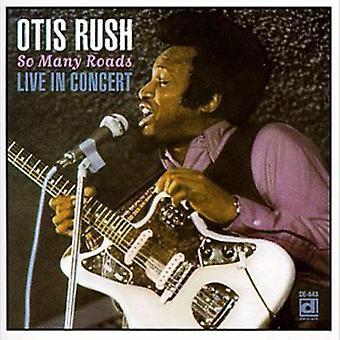 Otis Rush - importación de Estados Unidos tantos caminos [CD]