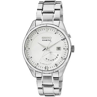 Seiko Kinetic Watch SRN043P1 - Stainless Steel Gents Kinetic Analogue