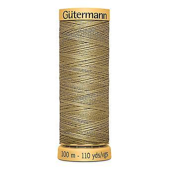 Gutermann 100% natural cotton thread 100m hand- en machinekleurcode - 826